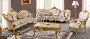 Sofa Tamu Mewah Danto Klasik Takimi Set Terbaru