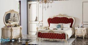 Tempat Tidur Mewah Model Klasik Spalca Modern Terbaru