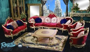 George Versailles Classic Traditional Furniture Living Room Set Terbaru