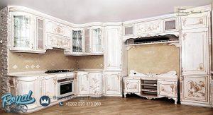 Kitchen Set Mewah Klasik Europe Style Terbaru
