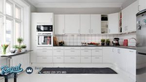 Kitchen Set Minimalis Full Duco Putih Terbaru