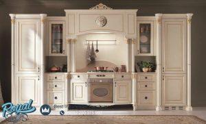 Kitchen Set Venesia White Duco Mewah Terbaru