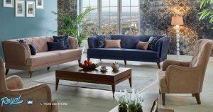 Kursi Tamu Sofa Vintage Minimalis Model Mewah Terbaru