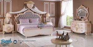 Model Set Tempat Tidur Mewah Ukiran Europe Style Terbaru