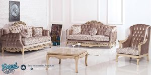 Set Kursi Tamu Sofa Mewah Konsanyu Model Mewah Terbaru