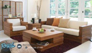 Set Sofa Tamu Klasik Vintage Minimalis Terbaru