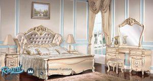 Set Tempat Tidur Mewah Klasik Jepara Model Terbaru