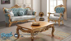 Sofa Tamu Mewah Ukiran Living Room Set Terbaru