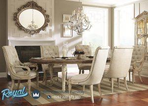American Furniture Set Meja Makan Mewah Modern Design Terbaru