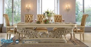 Angel Dining Room Set Mewah Luxury Klasik Terbaru