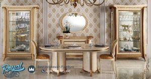 Arredo Classic Dining Room Set Mewah Terbaru