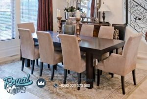 Dining Room Set Minimalis Jati Model Terbaru