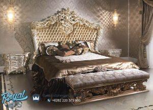 Dipan Tempat Tidur Mewah Lussion Ukiran Terbaru