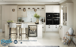Henley Kitchen Set Furniture Aesthetic White Terbaru