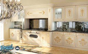 Kitchen Set Klasik Mewah Italian Furniture Mewah Terbaru