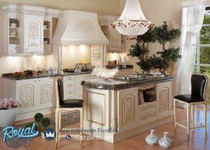 Kitchen Set Mewah Klasik Europe Style Model Terbaru