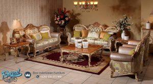 Klasik Living Room Set Mewah Model Terbaru