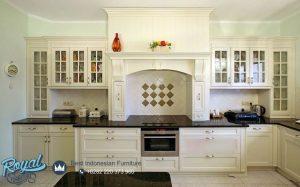 Klasikal Kitchen Set Mewah Furniture Terbaru