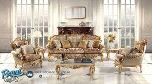 Kursi Tamu Mewah Set Sofa Ukiran Jepara Terbaru