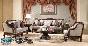 Luxury Traditional Living Room Set Mewah Terbaru