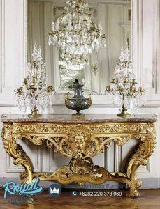 Meja Konsol Mewah French Interior Terbaru Ukiran