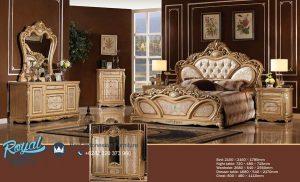 New Design Europe Classic Bedroom Furniture Mewah Terbaru