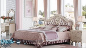Set Furniture Kamar Tidur Mewah Iridian Bed Terbaru