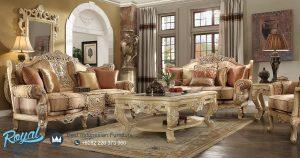 Set Furniture Sofa Ruang Tamu Mewah Ukiran Terbaru
