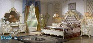 Set Kamar Tidur Mewah Ukiran Model Eropa Klasik Jepara