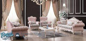 Set Kursi Tamu Sofa Living Room Mewah Terbaru