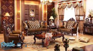 Set Sofa Tamu Mewah Jati Model Kursi Tamu Terbaru