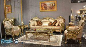 Set Sofa Tamu Ukiran Jepara Mewah Klasik Terbaru