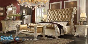 Set Tempat Tidur Mewah Furniture Bedroom Set Terbaru
