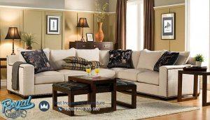 Sofa Tamu Minimalis Mewah Gray Stain Furniture Terbaru