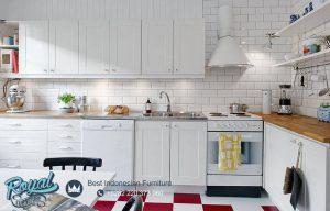 White Kitchen Set Contemporary Design Minimalis Terbaru