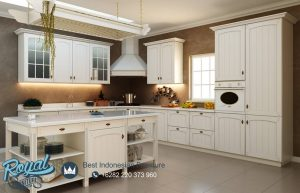 White Kitchen Set Wall Cabinets Modern Desain Terbaru