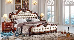 Bedroom Set Tempat Tidur Mewah Jati Ukir Klasik Model Terbaru