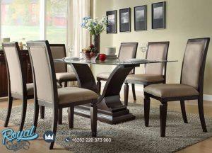 Contamporary Dining Chair Set Model Kursi Meja Makan Terbaru