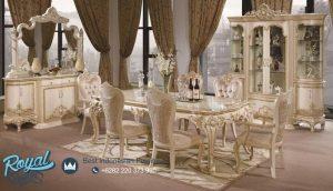 Dining Room Set Mewah Kassiopea Ukiran Terbaru