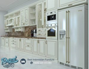 Kitchen Set Classical Modern Design Mewah Terbaru