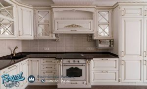 Kitchen Set Model Klasik White Duco Terbaru