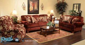 Living Room Set Mewah Calbert Klasik Design Terbaru