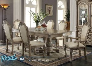 Model Kursi Meja Makan Klasik Furniture Set Terbaru