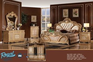 New Design Bedroom Furniture Luxury Set Tempat Tidur Terbaru