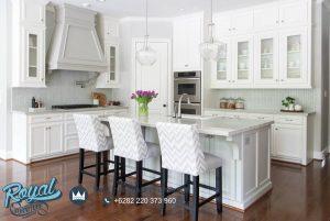 Overall Kitchen Set Remodel Minimalis White Duco Terbaru