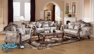 Set Furniture Living Room Set Mewah Jati Set Tebaru