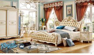 Set Kamar Tidur Mewah Italian Klasik Design Model Terbaru