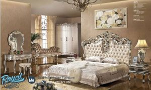 Set Kamar Tidur Mewah Victorian Bed Ukiran Terbaru