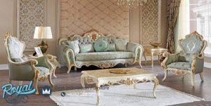 Set Kursi Sofa Tamu Mewah Italian Sufi Klasik Terbaru