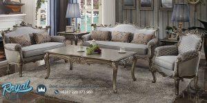Set Kursi Tamu Sofa Mewah Picardy with Bed Terbaru